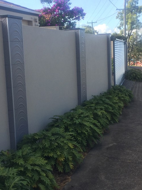 Brick fence Gold Coast Queensland